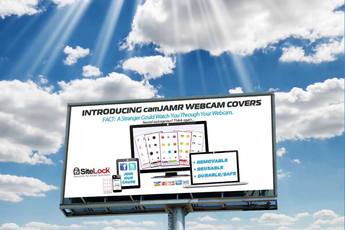 Cover Your Web Camera - camJAMR Webcam Covers