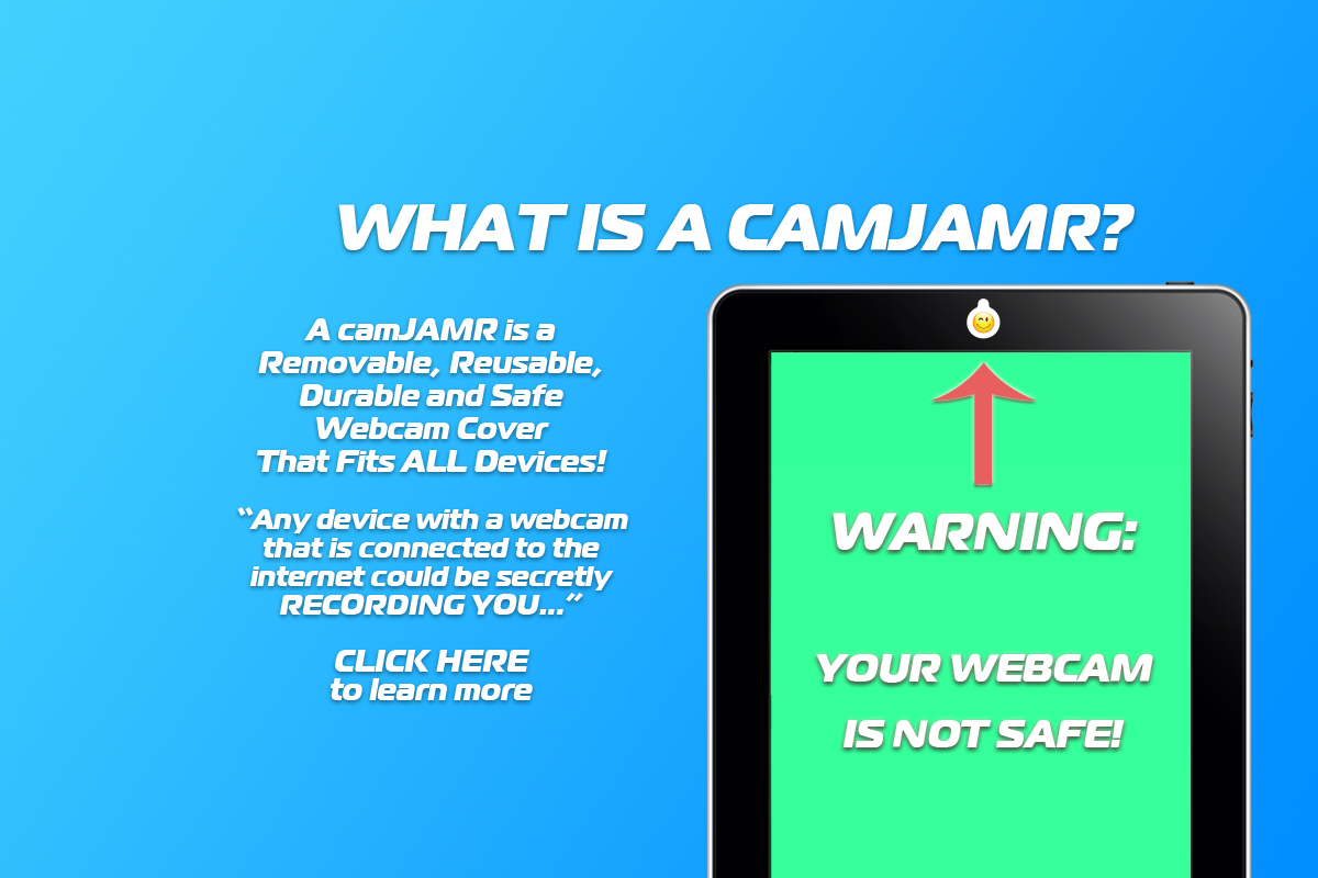 camJAMR Webcam Covers - Introduction Presentation