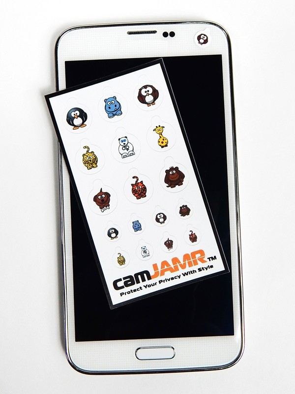iPhone, Android, Smart Phone Webcam Covers - camJAMR Animal Pack