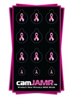 breast cancer awarness stickers for webcam privacy! camJAMR Hope Bundle