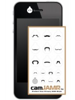 iPhone, Android, Smart Phone Webcam Covers - camJAMR Mustache Pack