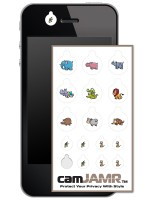iPhone, Android, Smart Phone Webcam Covers - camJAMR Safari Pack