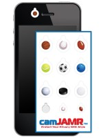iPhone, Android, Smart Phone Webcam Covers - camJAMR Sports Pack
