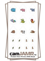 Xbox, iPhone, iPad, Macbook, iMac, Amazon Kindle Web camera covers / privacy stickers - camJAMR Safari Bundle